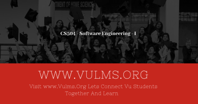 CS504 - Software Engineering