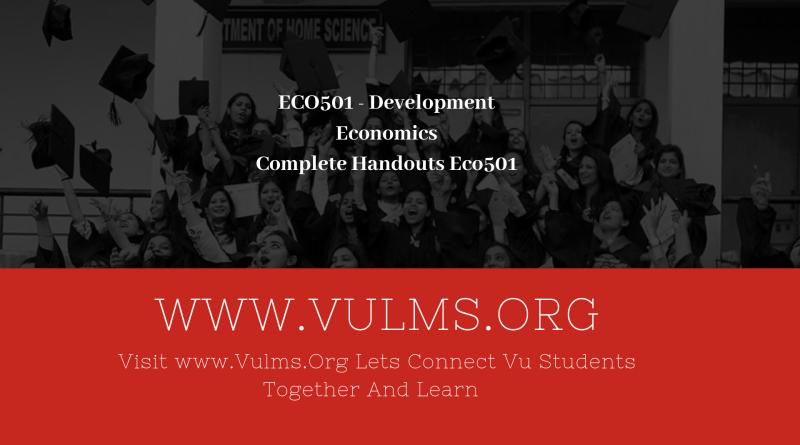 ECO601 - Business Econometrics