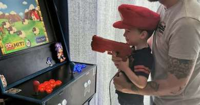 Man Discovers New Calling After Building Incredible Video Arcade for His Son During Lockdown
