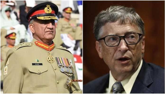 Army chief and Bill Gates discuss coronavirus, resumption of polio drive in Pakistan