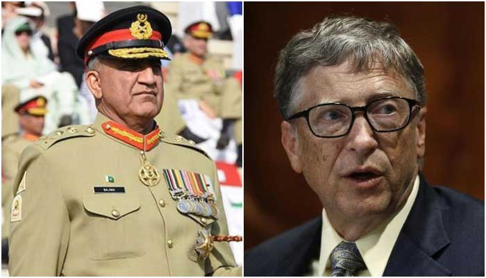 Army chief and Bill Gates discuss coronavirus, resumption of polio drive in Pakistan