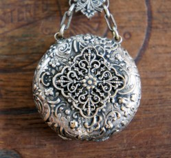 Chatelaine pocket watch case