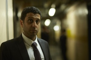 WARNING: Embargoed for publication until 00:00:01 on 18/08/2015 - Programme Name: River - TX: n/a - Episode: River (No. Ep 1) - Picture Shows:  Ira King (ADEEL AKHTAR) - (C) Kudos - Photographer: Nick Briggs