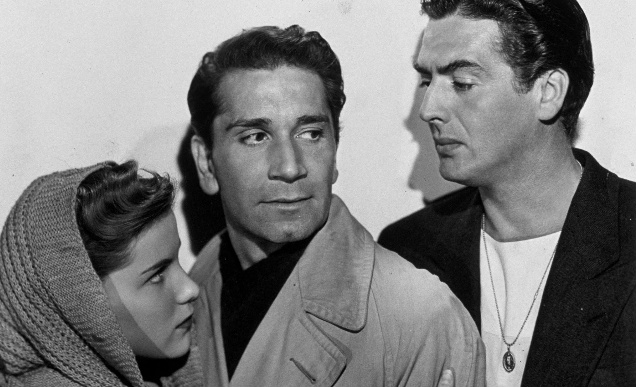 Cry of the City, Victor Mature, Debra Paget