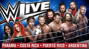 WWE Latin America tour