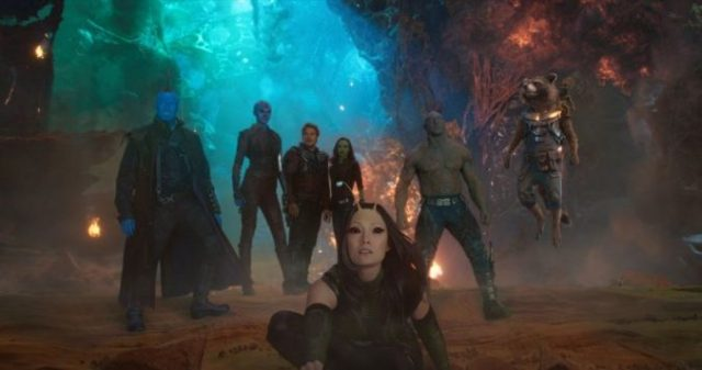 guardians of the galaxy volume 2 film review sci-fi comedy zoe saldana groot