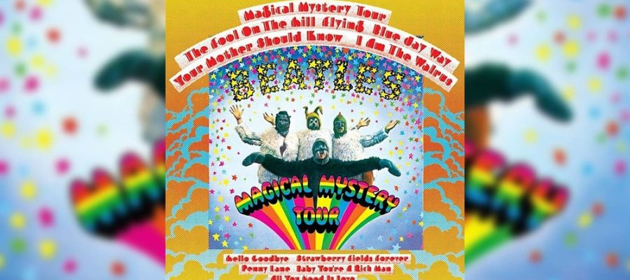 Magical Mystery Tour Album Cover