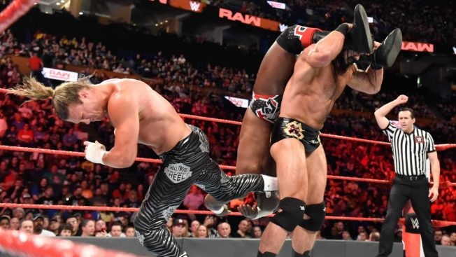 Drew McIntyre and Dolph Ziggler vs Titus Worldwide