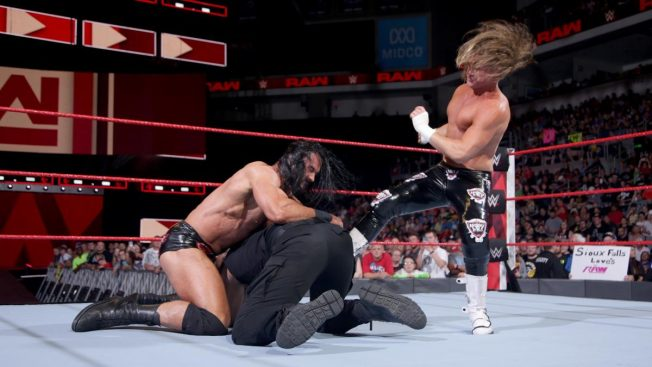 Drew McIntyre and Dolph Ziggler attack Roman Reigns