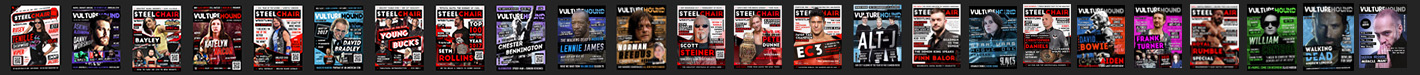 VultureHound + SteelChair Wrestling Magazine
