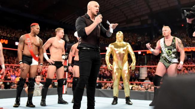 Baron Corbin and the World Cup contenders