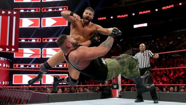 Bobby Roode takes down one of AOP