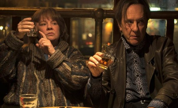 Can You Ever Forgive Me? Melissa McCarthy and Richard E. Grant