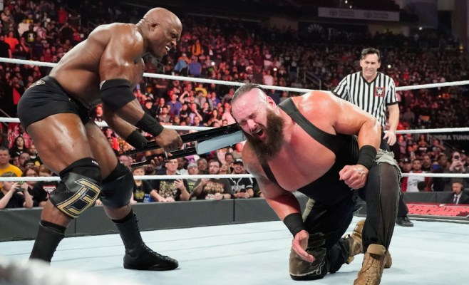 Elimination Chamber Bobby Lashley Braun Strowman
