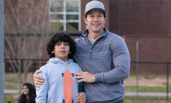 Instant Family Gustavo Quiroz Mark Wahlberg