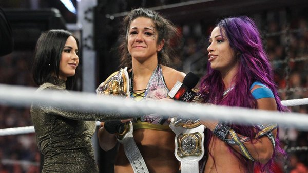 Bayley & Sasha Elimination Chamber