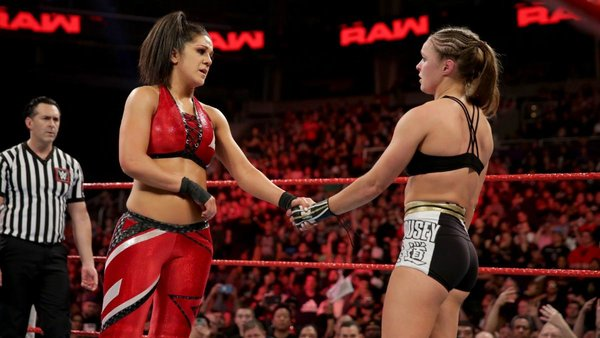 Bayley vs Ronda RAW