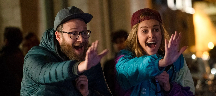 Long Shot Seth Rogen Charlize Theron
