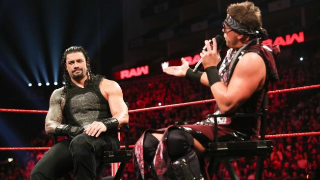 Roman Reigns and The Miz talk on Miz TV