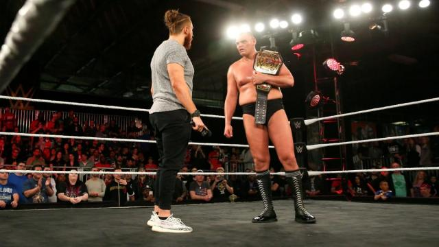 Dunne and WALTER stare down again