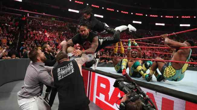 The Usos fly onto The Revival and others
