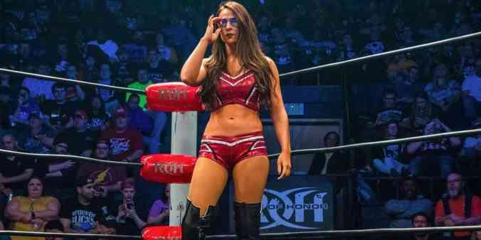 Tenille Dashwood Signs With Impact Wrestling - VultureHound