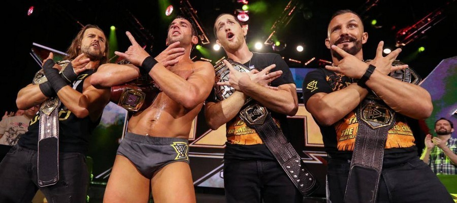 The Undisputed Era stand proud on the USA Network debut of NXT