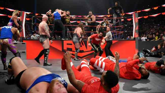 RAW, NXT and SmackDown brawl
