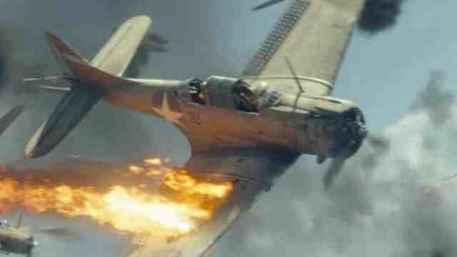 Midway Fighter Pilot Scene