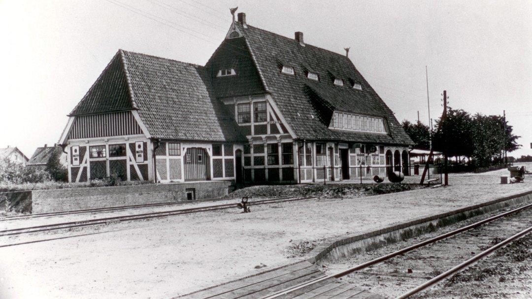 Bahnhof Zollenspieker (Nordansicht)
