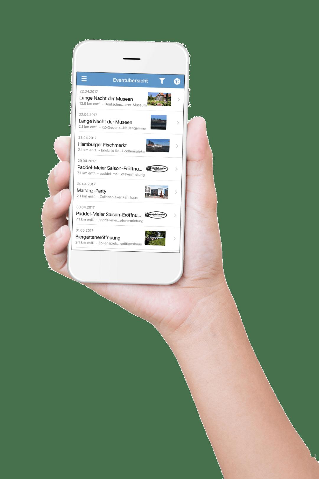 Vier- & Marschlande App