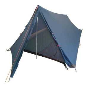 Blue Vuno Port William Ultralight weight Hiking Camping tent Front Open View