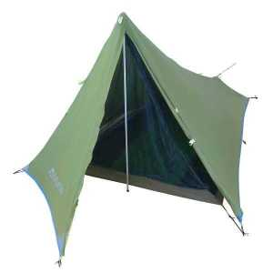 Green The Divide Ultralight weight hiking camping tent front open