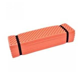 Sleeping Pad Orange Folded