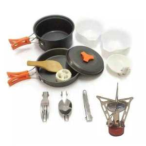 Gas Stove Set for Hiking