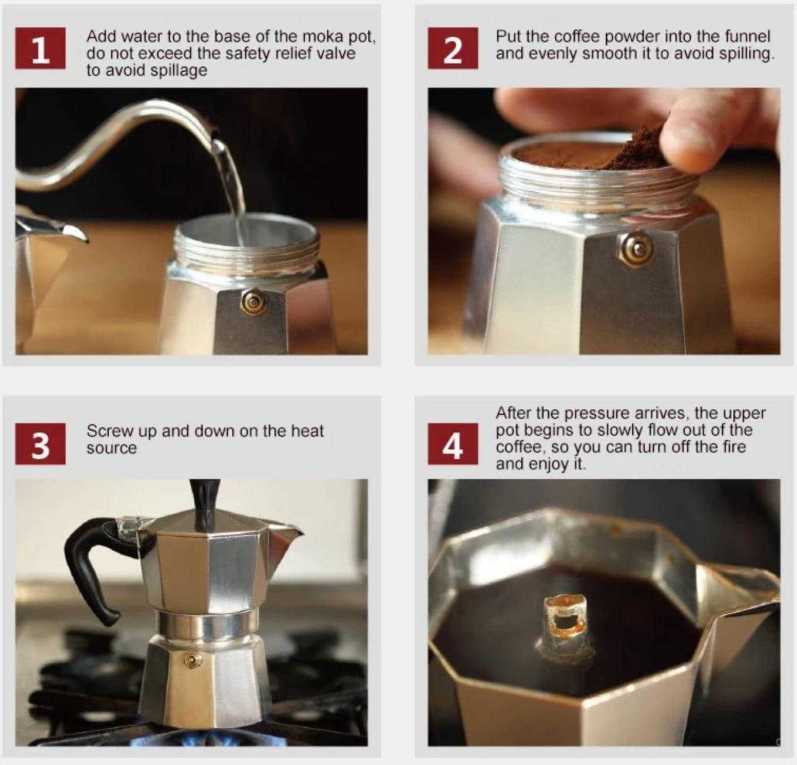 Stove Top Espresso Coffee Maker How to Use