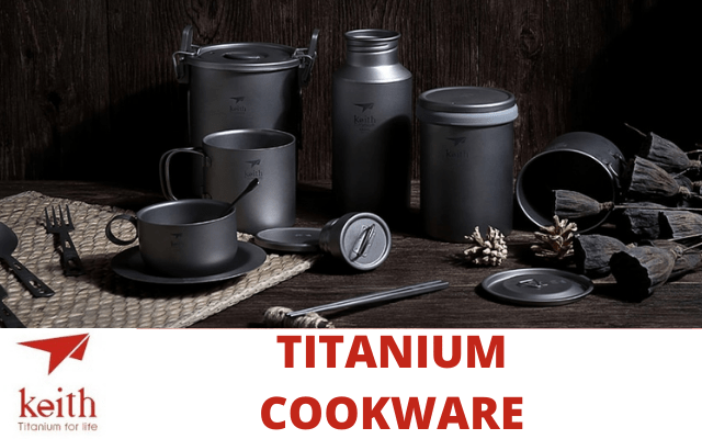 Keith Titanium Ultralight Cookware V2
