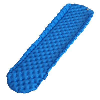 Lightweight Air Mattress Blue Anti Roll-Off