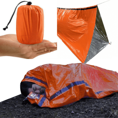 Emergency Sleeping Bag Bivvy Shelter