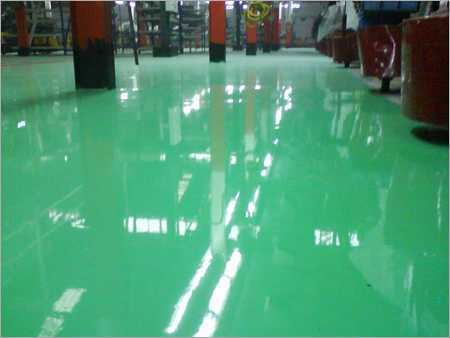 Quy trình thi công sơn epoxy tự san phẳng nhà máy thực phẩm