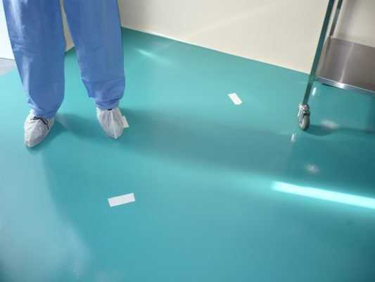 Quy trình thi công sơn epoxy bệnh viện
