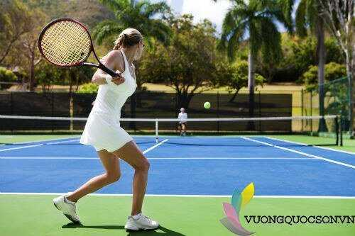 Thi công sửa chữa sân tennis trên sàn bê tông uy tín chất lượng