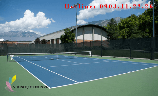 Sơn sân tennis Terraco có chất lượng không?