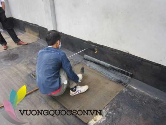 thi công sơn epoxy chống thấm