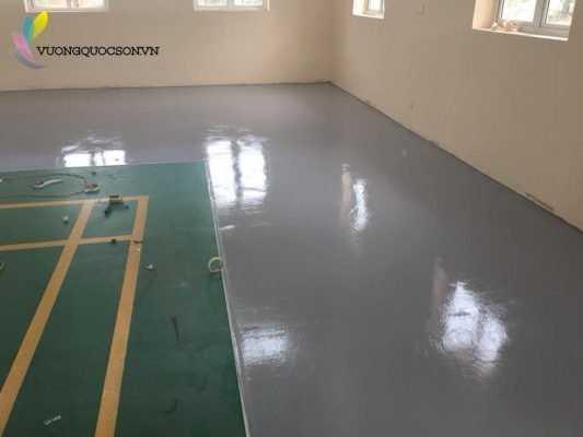 thi công sơn sàn epoxy giá rẻ cho nhà xưởng