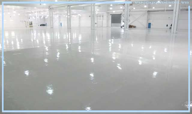 Phương pháp thi công Sơn Epoxy nâng cốt sàn bê tông