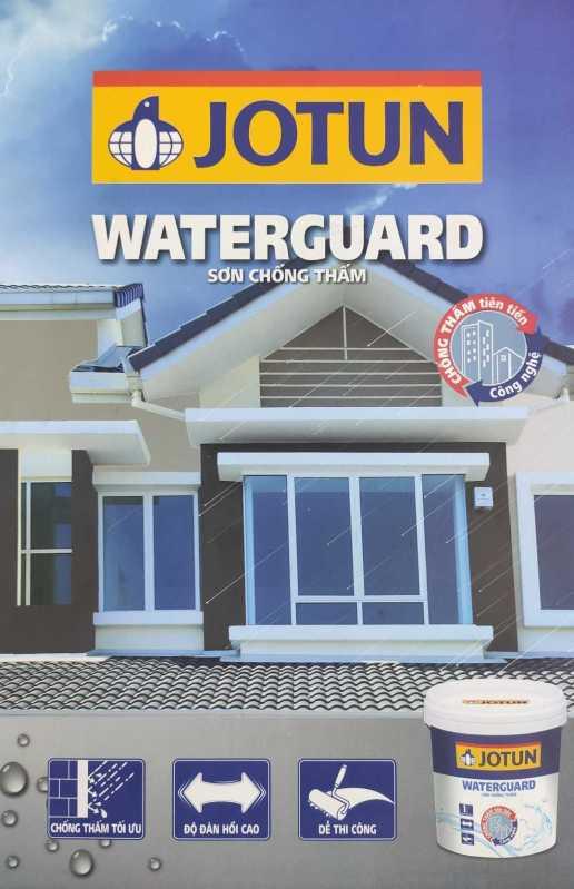 Ưu Điểm Của Dòng Sơn jotun ngoại thất water guard chi tiết.