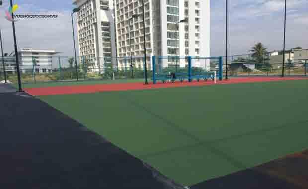 Nên Dùng Dòng Sơn Nào Để Áp Dụng Cho Sân Tennis