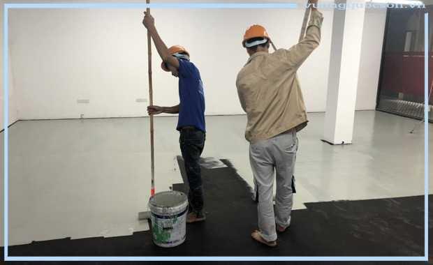 chống thấm cho công trình sử dụng sơn epoxy chống thấm giá rẻ