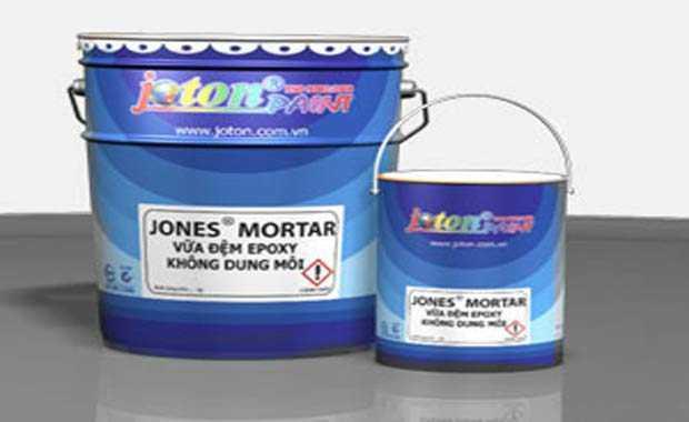 Hướng Dẫn Thi Công Vữa Đệm Epoxy Không Dung Môi Jones Mortar